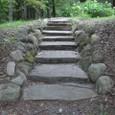 Mさんの鉄平石階段